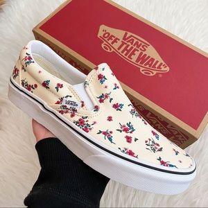 Vans Floral Slip-On Women's Sneakers